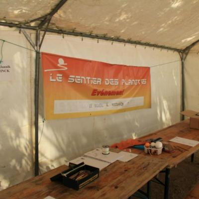 Stand du Sentier des Planètes (photo ODH TV)