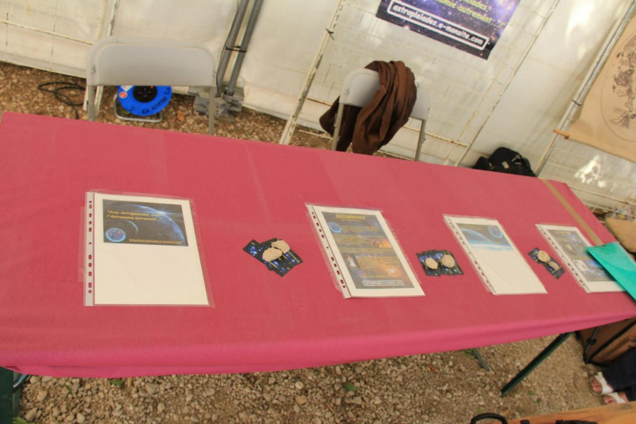 Stand du site Astropleiades