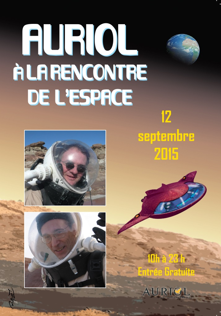 Affiche Auriol 2015