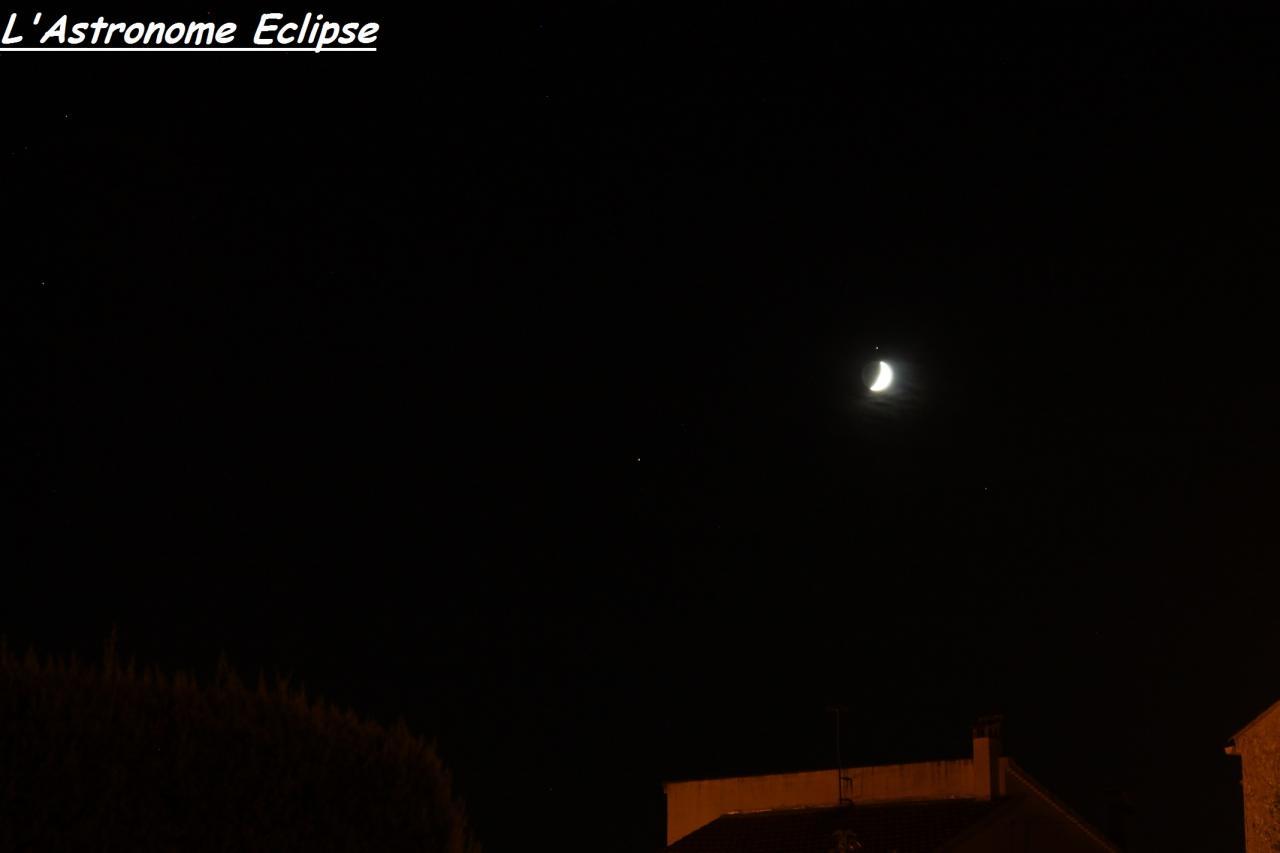 Conjonction Lune-Saturne (31 Août 2014)