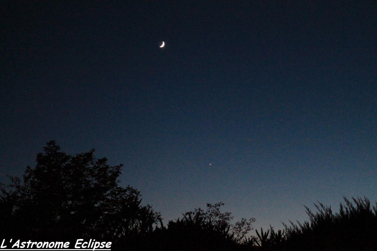 Conjonction Lune-Vénus (7 Novembre 2013)