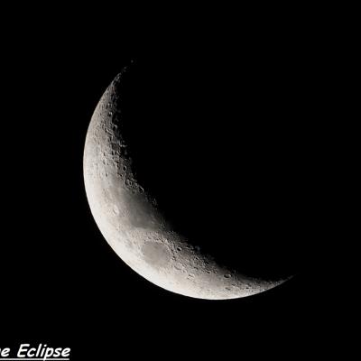 Croissant lunaire (5 Mars 2014)