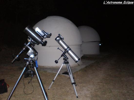 Maksutov Orion 127 et Newton Mizar 114/900
