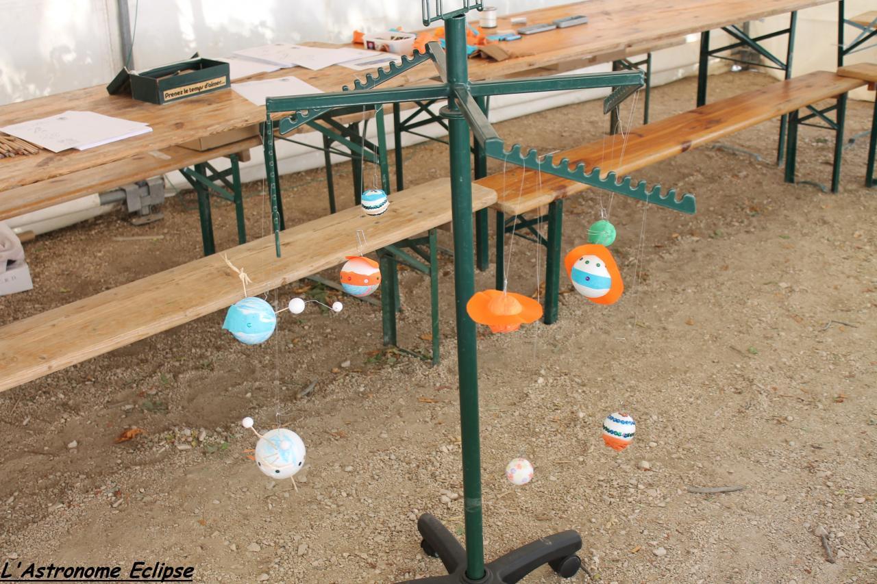 Planètes fabriquées par les enfants