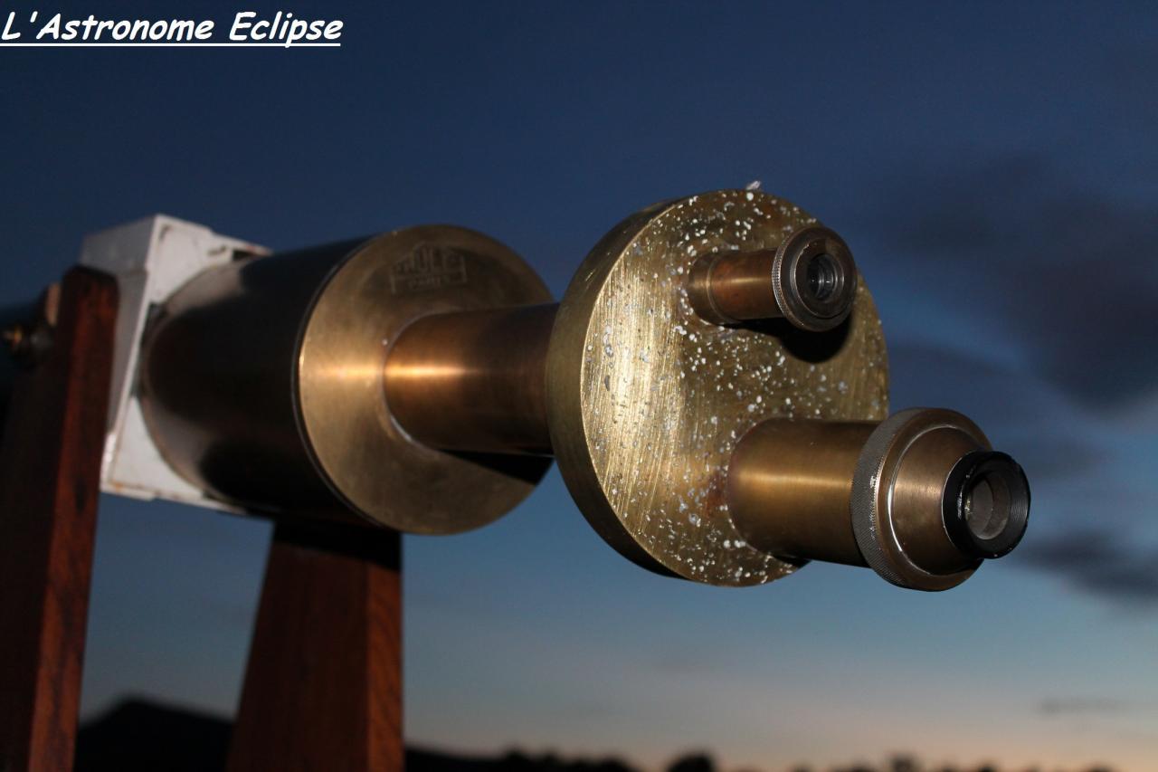 """La lunette Huet possède une """"tourelle revolver""""..."""