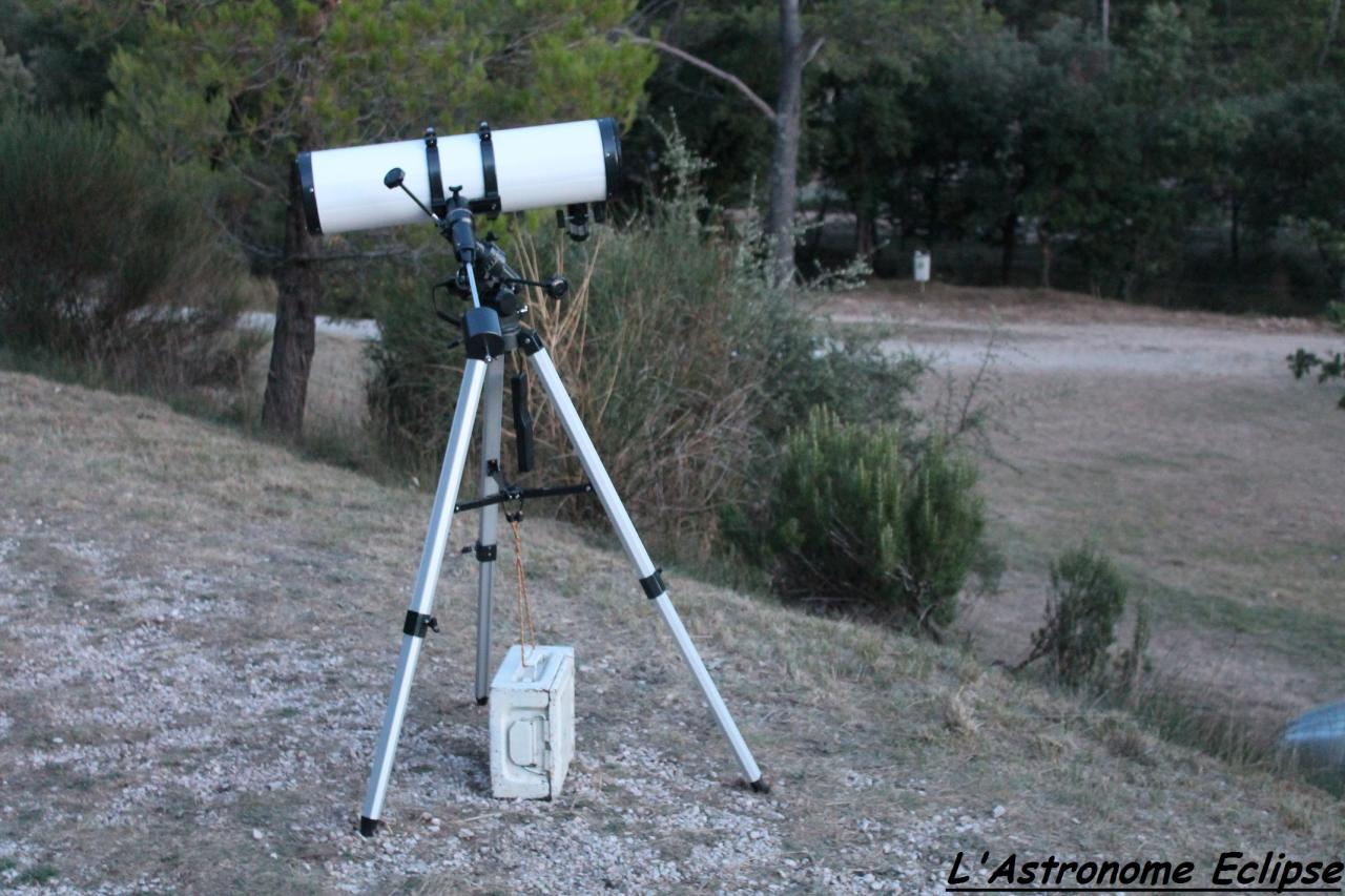 Newton Oxyrian 150/750 sur Eq-3