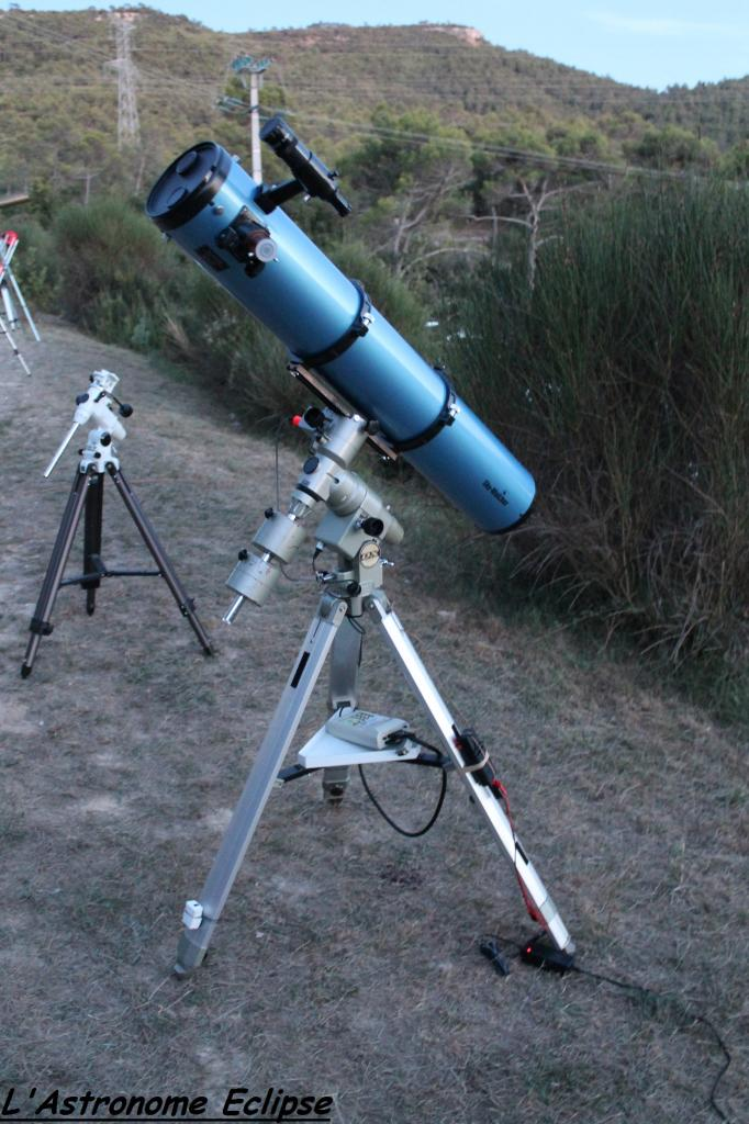Newton Skywatcher 150/1200 sur Vixen GP-DX