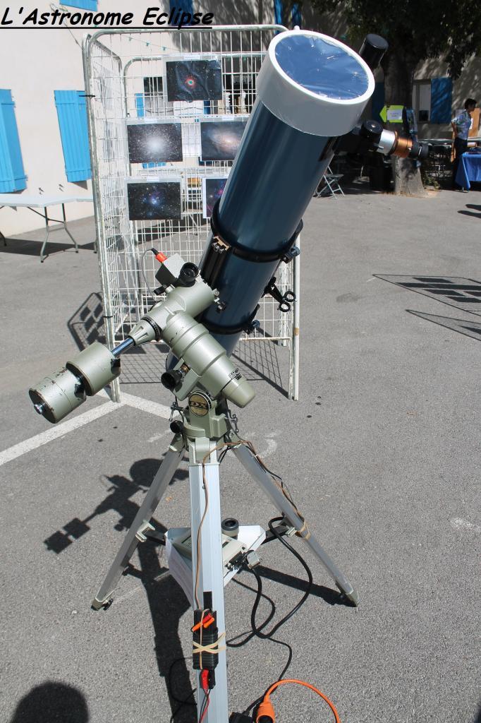 Au programme: observation des taches solaires!