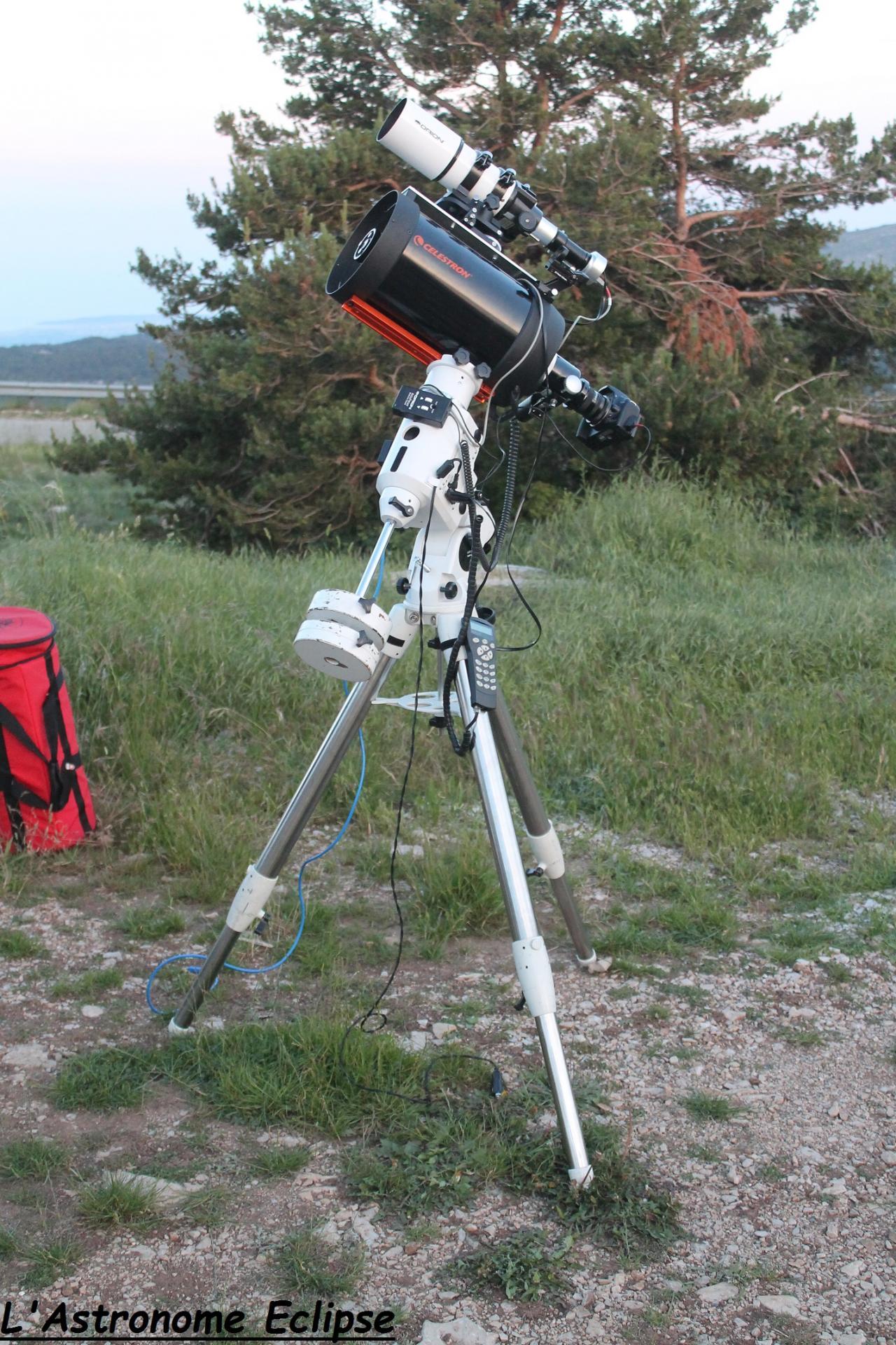 Télescope Celestron 8