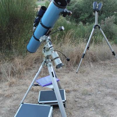 Skywatcher 150/1200 sur GP-DX et jumelles 20x80
