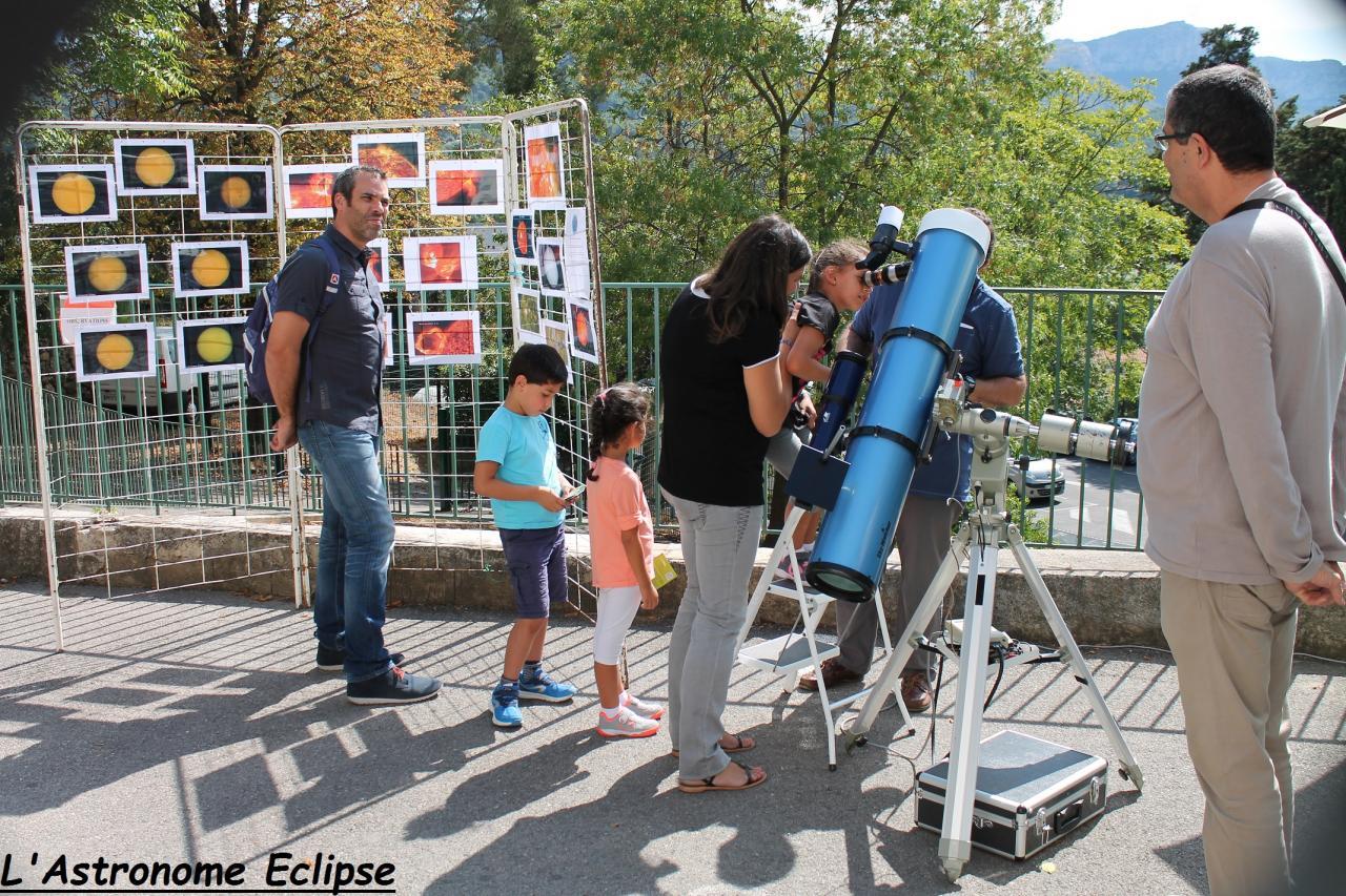 Observation solaire pour petits et grands...