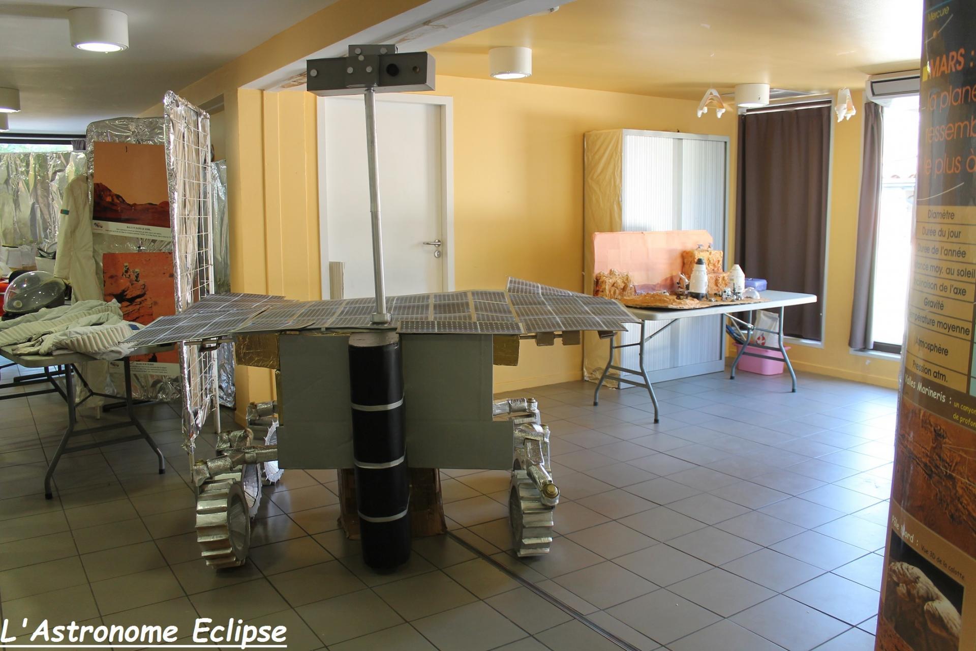 Un rover martien...