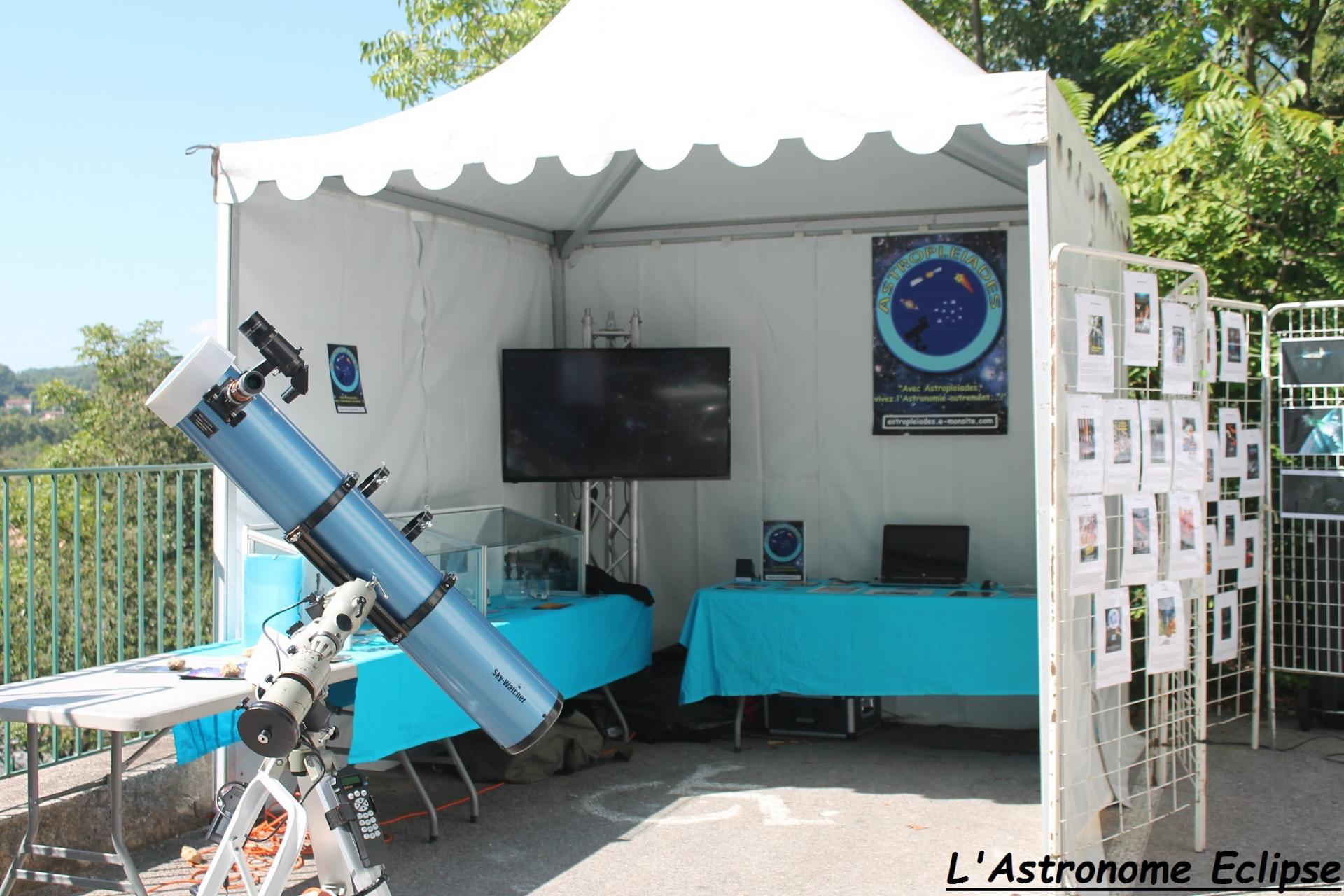 Le stand Astropleiades