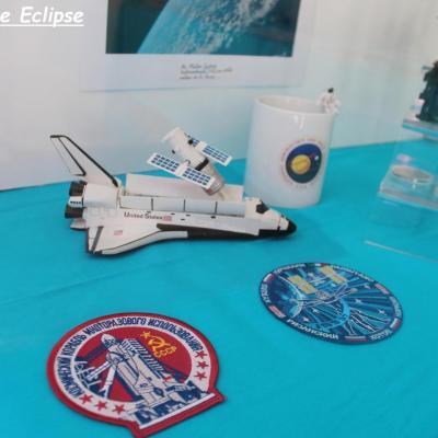 Quelques objets de la conquête spatiale