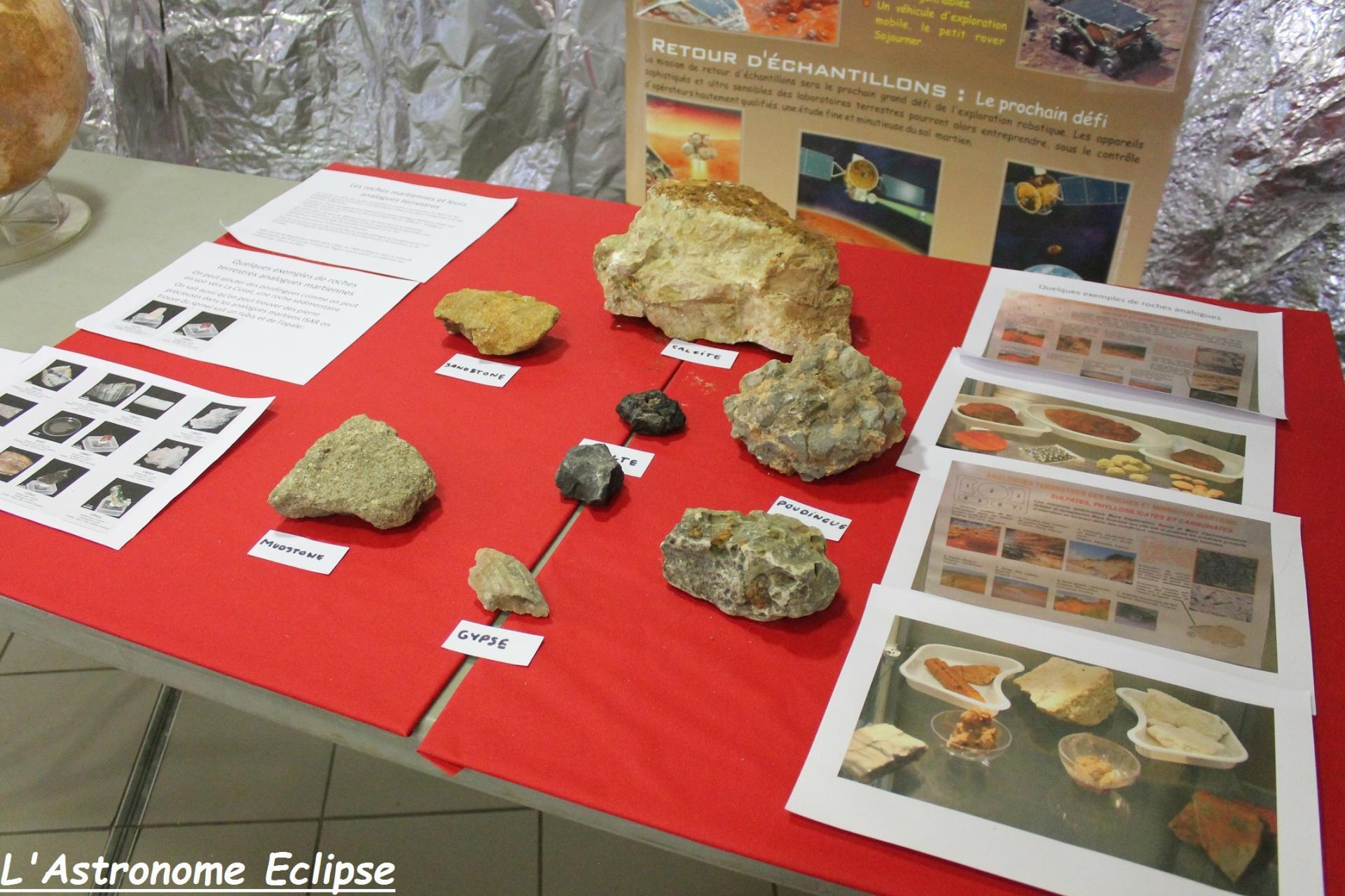 Quelques météorites