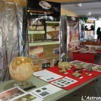 Stand de l'association Planète Mars (2)