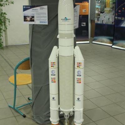 Maquette d'Ariane 5