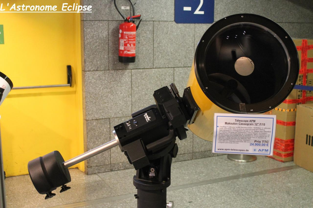 Télescope APM Mak 12
