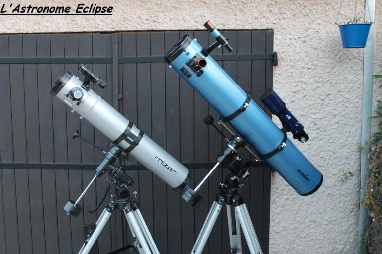 Le Mizar 114/900 et le Skywatcher 150/1200