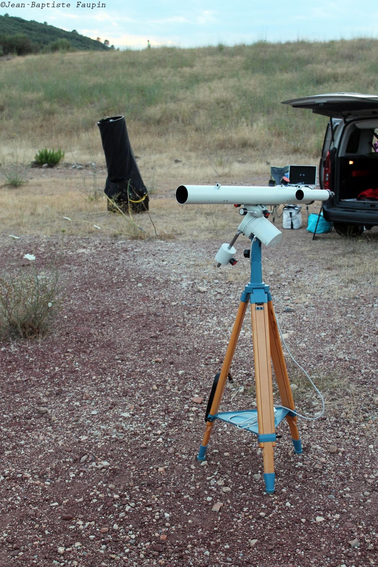 Dobson Explore-Scientific 400 - Lunette Zeiss Telemator