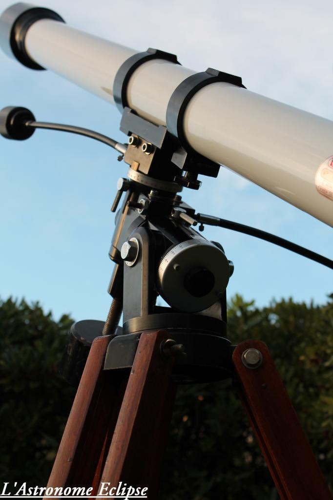 La monture Polaris vue de près...