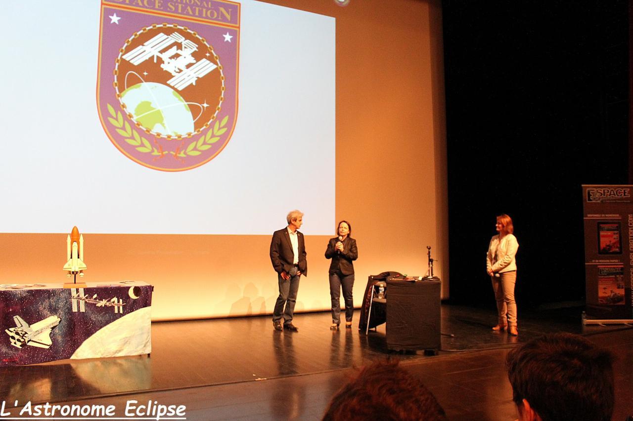 Conférence de Léopold Eyharts à St-Maximin