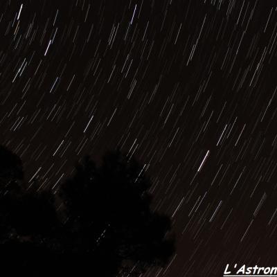 Filé d'étoiles près de la Grande Ourse (22 Février 2014)