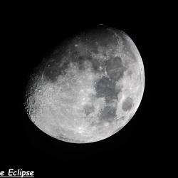 Lune gibbeuse (23 Juin 2018)