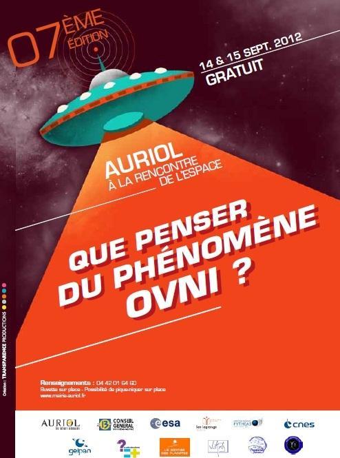 Affiche Auriol 2012