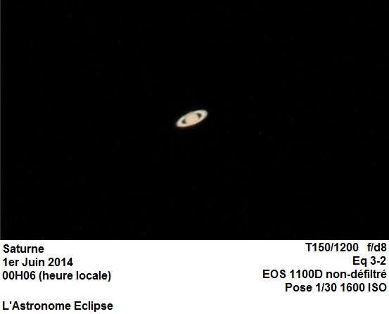 Saturne (31 Mai 2014)