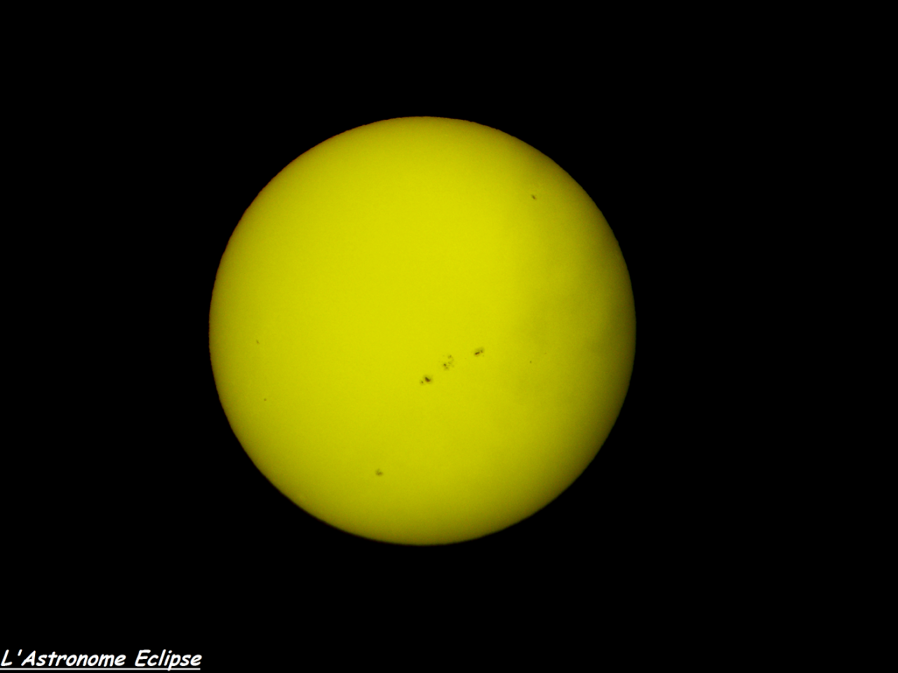 Soleil du 14 Janvier 2013