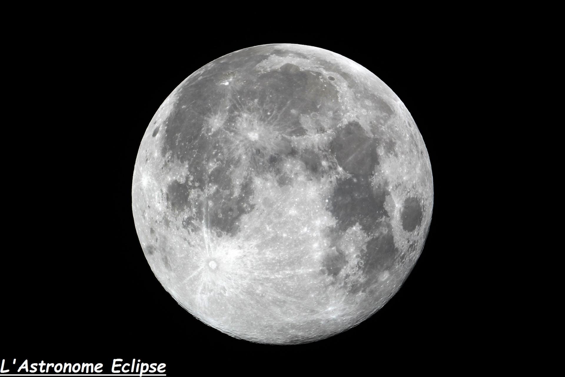 Super-Lune (19 Février 2019)