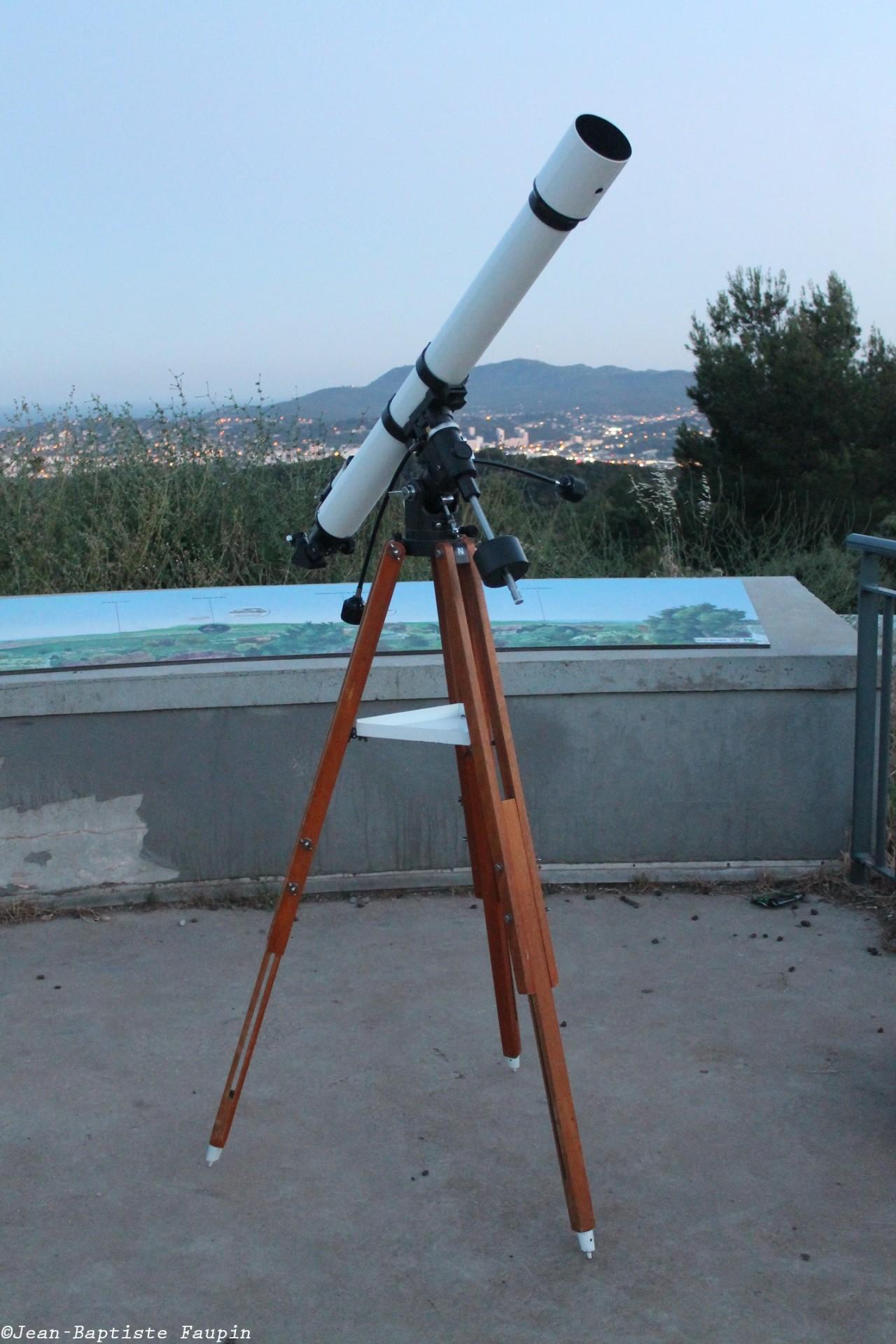 Lunette Vixen Polaris 80/1200