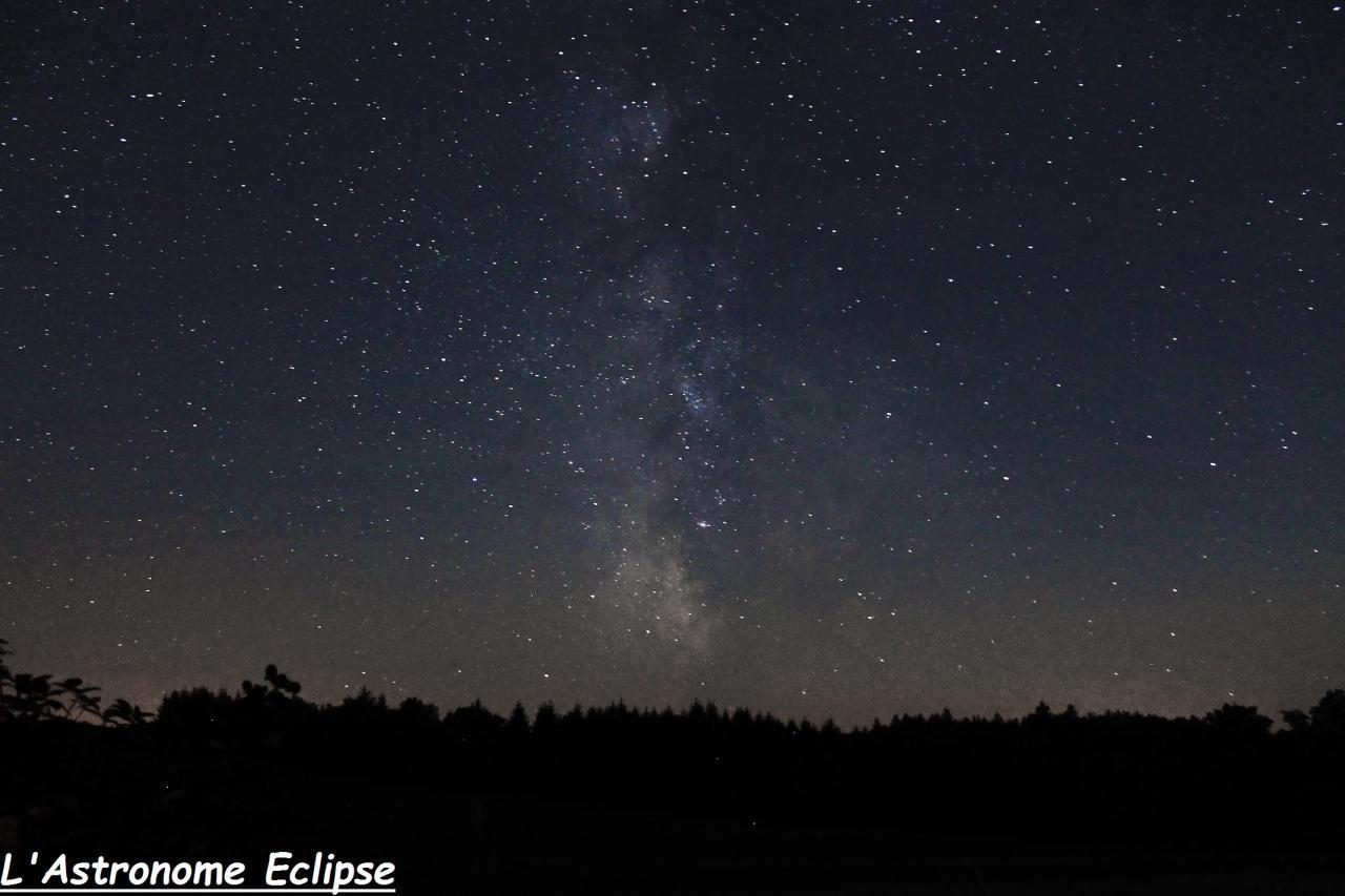 Voie Lactée vue depuis Cussac (6 Août 2015)