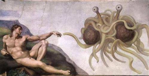 Flying Spaghetti Monster forever...