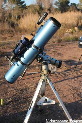 Skywatcher 150/1200 (image L'Astronome Eclipse)