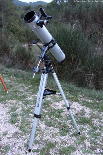 Télescope Mizar 114/900 (image L'Astronome Eclipse)