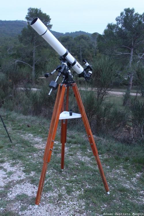 Lunette Vixen Polaris 80/910 (image L'Astronome Eclipse)