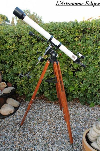 Lunette Vixen Polaris 80/1200 (image L'Astronome Eclipse)