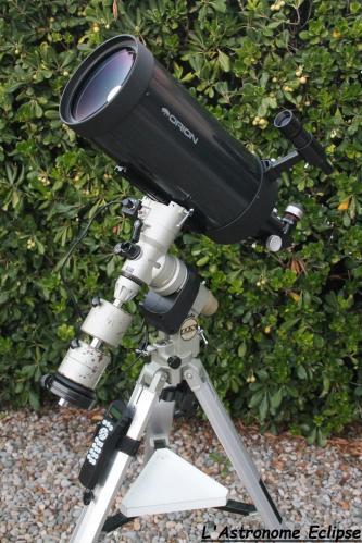 Maksutov Orion 180/2700 sur Vixen GP-DX (image L'Astronome Eclipse)