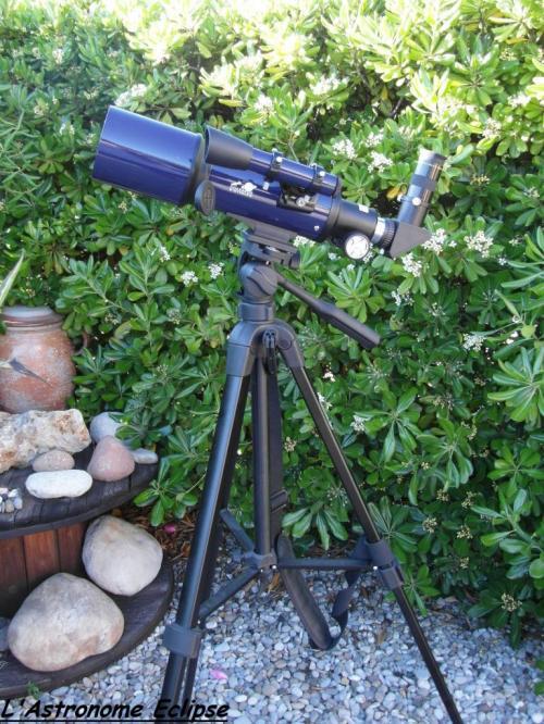 Lunette Paralux 70/350 (image L'Astronome Eclipse)