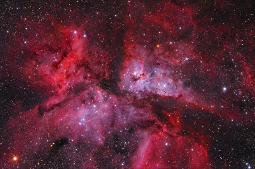 Nébuleuse Eta Carinae (image Robert Gendler)