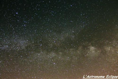 Voie Lactée (image l'Astronome Eclipse)